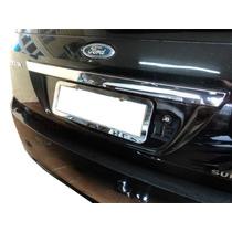 Friso Cromado P/ Porta Malas Traseiro Fiesta Hatch 2002/