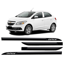 Jgo Friso Lateral Personalizado Cor Carro Chevrolet Onix