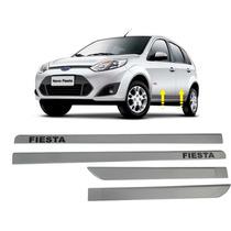 Friso Lateral Pintado Cor Carro Fiesta Hatch Sedan 02 14