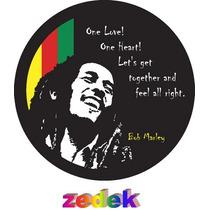 Capa Roda Estepe Pajero Tr4 Rav4 - Bob Marley