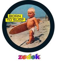 Capa Roda Estepe Tr4 Rav4 - Baby Surf, Nasceu Para Surfar