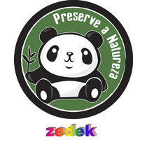Capa Roda Estepe Tr4 Rav4 - Preserve A Natureza, Panda