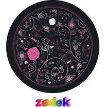 Capa Roda Estepe Pajero Tr4 Rav4 - Floral, Rosa, Flores