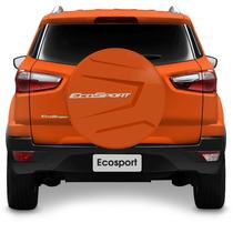 Capa Estepe Ecosport 2013 2014 2015 Laranja Rigida Aro 15 16