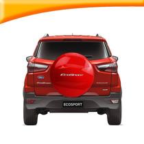 Capa Estepe Rigida Ecosport 2012 13 14 15 Vermelha Aro 16