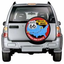 Capa Estepe Ecosport Rota 66 Automotivo Roda Aro 15 E 16