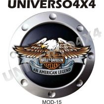 Capa Estepe Tr4, Pajero, Cabo+cadeado, Harley Davidson, M-15