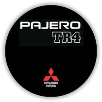 Capa Para Estepe Mitsubishi Pajero Tr4 - Pl5362 - Fibra De C