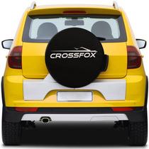 Capa De Estepe Preta Basic Crossfox Personalizado Aro 15 16
