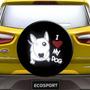 Capa Estepe Ecosport Aro 13 A 15 Cabo Cadeado Love My Dog