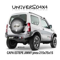Capa Estepe Jimny Suzuki, Pneu 215x75x15, Cabo E Cadeado, M3