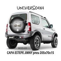 Capa Estepe Jimny Suzuki, Pneu 205x70x15, Cabo E Cadeado, M3