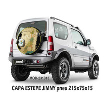 Capa Estepe Jimny Suzuki,pneu 215x75x15, Estrada Real 231013