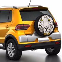 Capa Estepe Estampa Tigre Ecosport Crossfox Aircross Spin