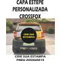 Capa Estepe Personalizada Crossfox, Para Pneu 205x60x15