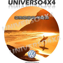 Capa Estepe Crossfox, Volkswagen, Cabo+cadeado, Praia, M-01