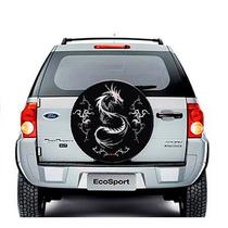 Capa De Estepe Crossfox 05/ Ecosport 03/ Modelo Dragão