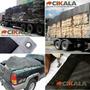 Lona Tela Preta Proteção Caminhão Caçamba Apara Preta 10x4 M