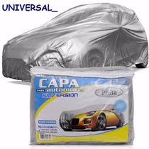 Capa Para Cobrir Carro Fiat Uno Forrada Impermeavel