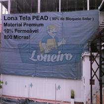 Super Lona Tela Pead 800 Micras Caminhão Caçamba Cerca 6x2,5