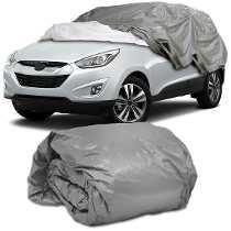 Capa Cobrir Carro Gofrada G Jac J5 J6 100% Forro Impermeavel