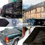 Lona Tela Preta Proteção Caminhão Caçamba Apara Preta 4x3,5