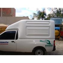 Capota Alta De Fibra Ford Courier 3,2 M3 - Igual Nova