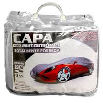 Capa De Carro 100% Forrada + Cabo + Cadeado - Proteção Total