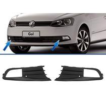 Moldura Grade Parachoque Gol G6 Volkswagen C/ Milha