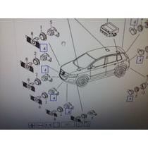 Sensor De Estacionamento Central Tiguan Todas Original Volks