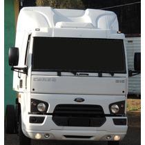 Spoiler Ford Cargo 816/1119 Pintado Na Cor ( Em Fibra)