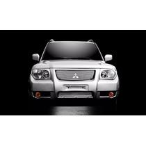 Kit Sobre Grade Cromo Aço Inox S/e Mitsubishi Tr4 2006 2007