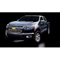 Kit Sobre Grade Cromo Aço Inox Filetada - Chevrolet S10