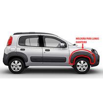 Moldura Para Lamas Dianteiro Fiat Novo Uno Way 2015 Original