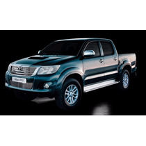 Kit Sobre Grade Cromo Aço Inox Toyota Hilux 2012 /...