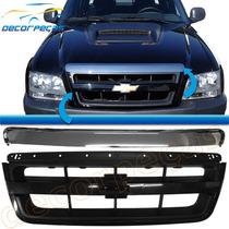 Grade S10 S-10 E Blazer 09 10 11 Com Friso Cromado Nova