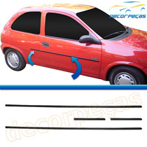 Kit Friso Lateral Corsa Hatch Pick-up 94 - 03 2 Portas Novo