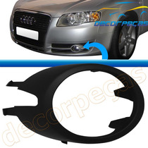 Aro Moldura Farol Milha Audi A4 2006 A 2008 06 07 08 Nova