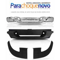Parachoque Traseiro + Pisante + Ponteiras S10 2012 2013 2014