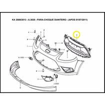 Grade Do Radiador Ka 11-13 Original Ford