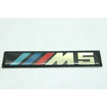 Emblema Bmw M5 Cromado: Serie 5, 6, 7, X1, X3, X5, X6 !
