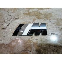 Bmw M Black Motorsport Emblema Traseiro (porta Mala) 8cm/3cm