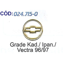 Emblema Kadett/ipanema/vectra 96/97 Cromados Grade #024715