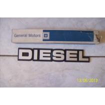 Emblema Diesel Gm D20 D40 Bonanza Veraneio Original Gm