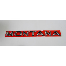 Emblema Montana 2002 Em Diante Cromado