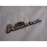 Emblema Concesionario Gm Alberto Faccin ( Opala D20 Monza
