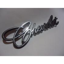 * Emblema Opala Chevrolet Cromado Brasão Friso Grade Ss 4100