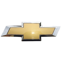 Emblema Dourado Gm Com Borda Cromada Agile Montana
