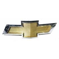 Emblema Dourado Borda Cromada Chevrollet Gm Cód:94734413