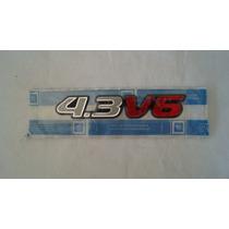 Emblema Da Tampa Traseira 4.3 V6 Original Gm S10 E Blazer